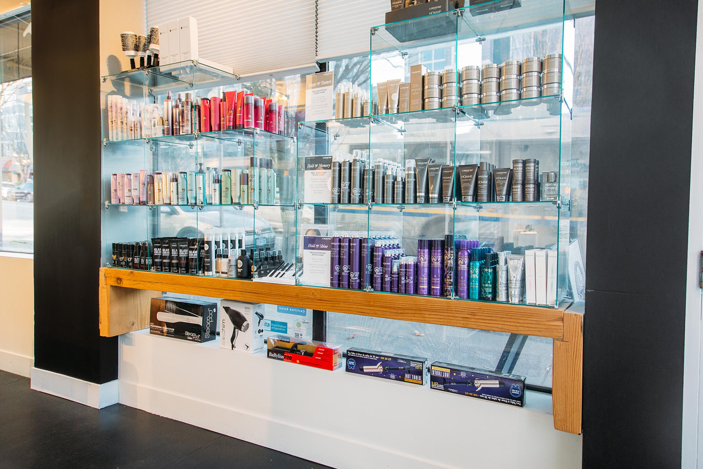 Hype Hair Studio Products and Brands