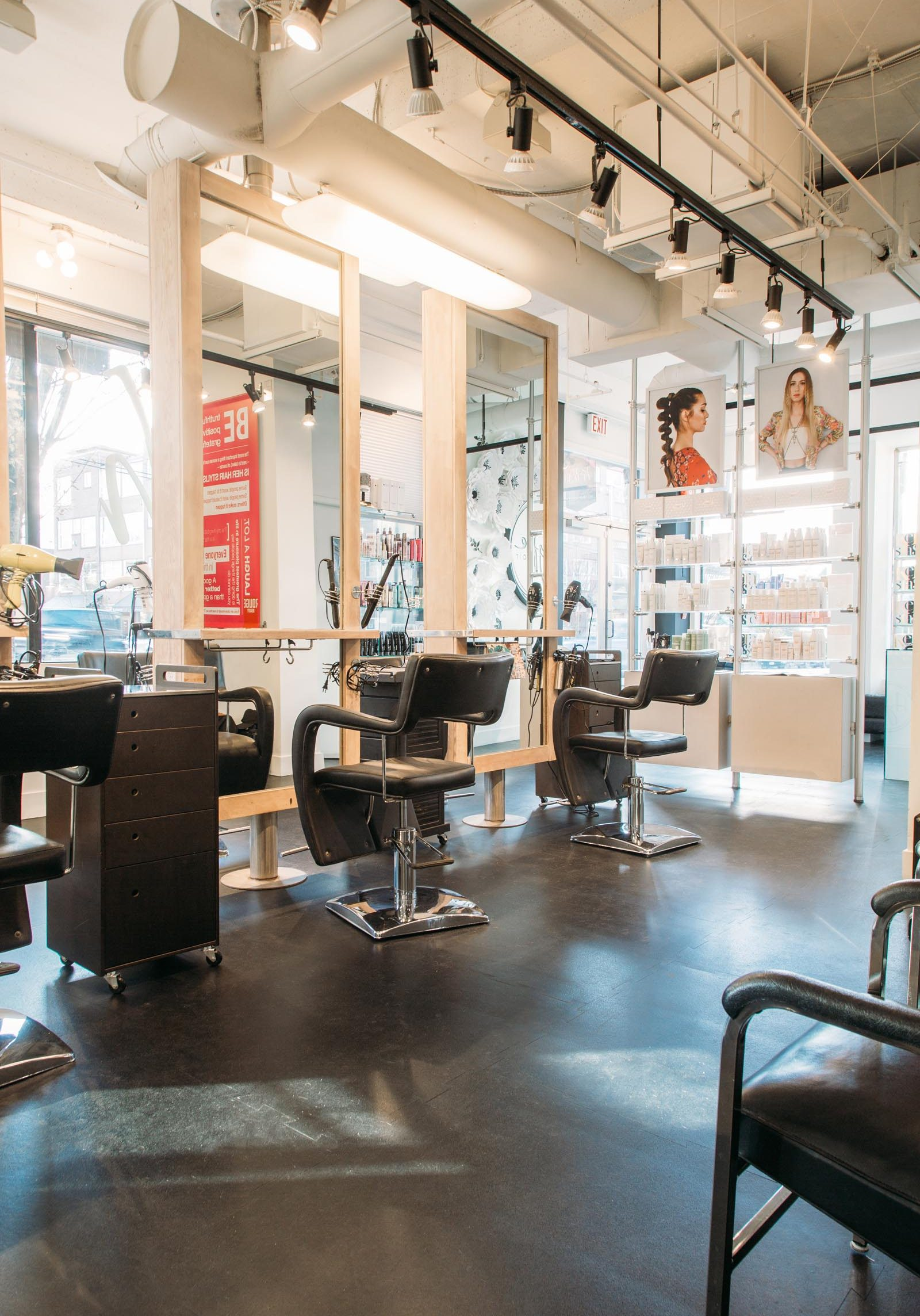 Hype Hair Studio Interior